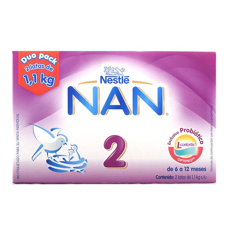 Las ventajas que la fórmula Nan 2 ofrece a tu bebé