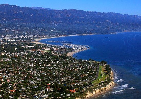 La vida en Santa Bárbara California
