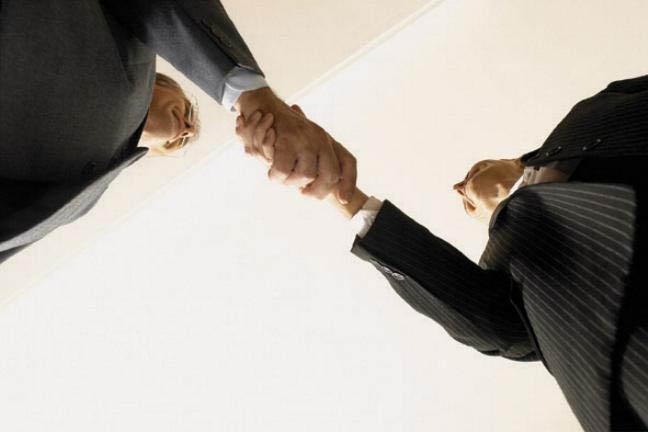 Negocios a través de la web