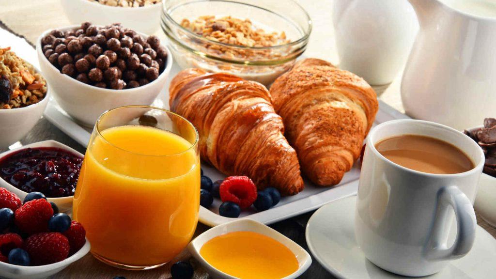 Desayuno incluido en hoteles familiares